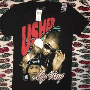 NWT Ushet t shirt hot topic